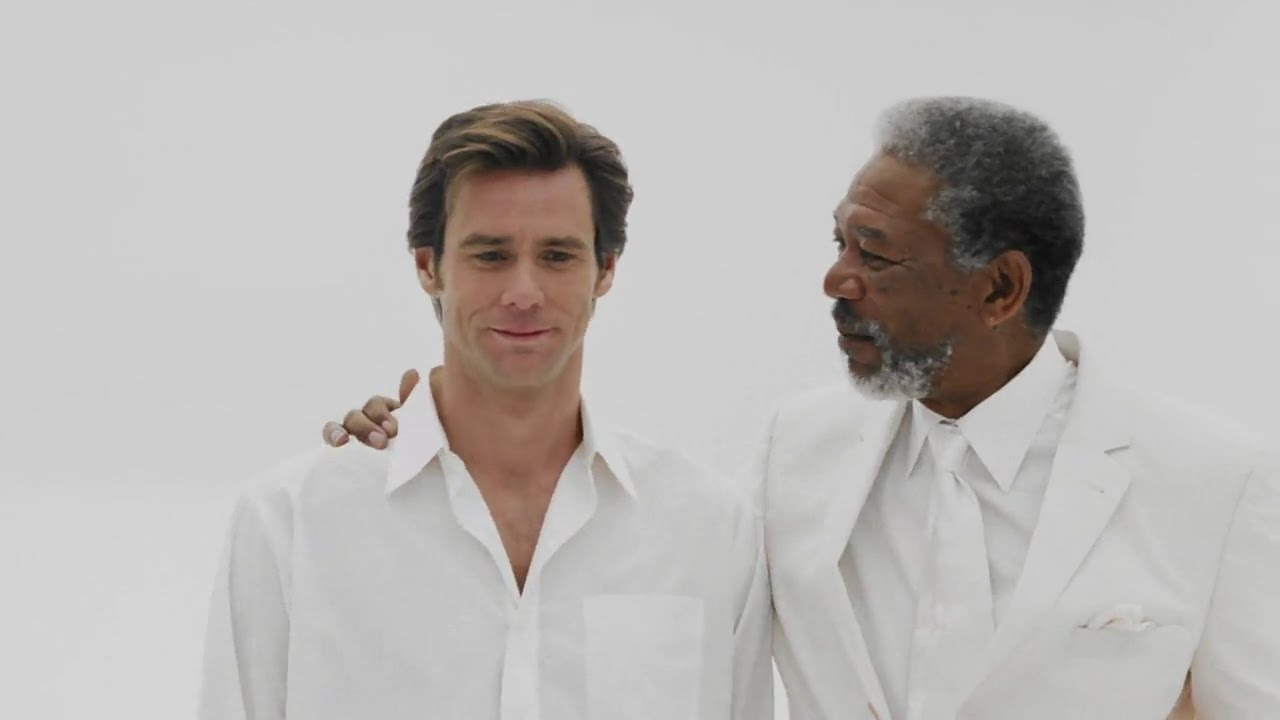 Congratulate, bruce almighty orgasm scene regret, that