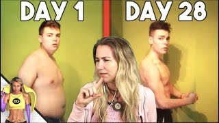 🍌 NO FOOD FOR 28 DAYS (MY RESULTS) Reaction😵