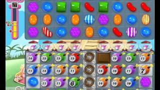 Candy Crush Saga Level 334 strategy to pass.