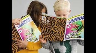 Apu Juniori - uusi lehti tiedonjanoisille lapsille