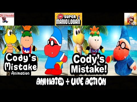 SML Movie: Codys Mistake! Animated + Live Action