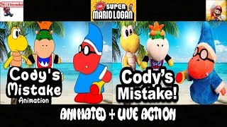 SML Movie: Cody's Mistake! Animated + Live Action