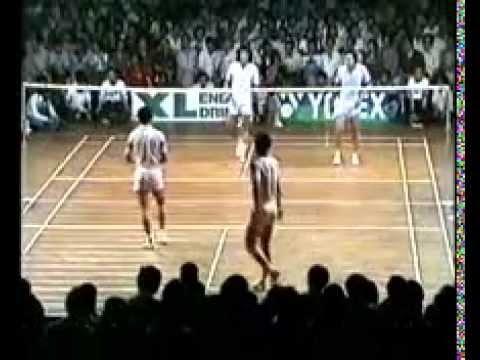 1980 Badminton Friendly-China vs Indonesia-Yao Xi Ming and Sun Zhi An vs Tjun Tjun and Ade Chandra