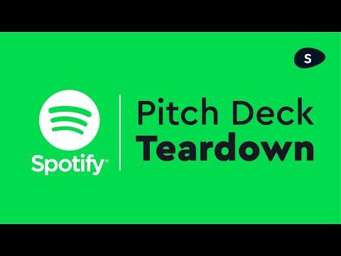 Spotify Pitch Deck: Startup Pitch Deck Design And Teardown