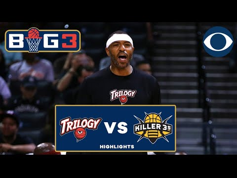 Kenyon Martin's TRASH TALK sparks Trilogy victory | Killer 3s catch fire late | BIG 3