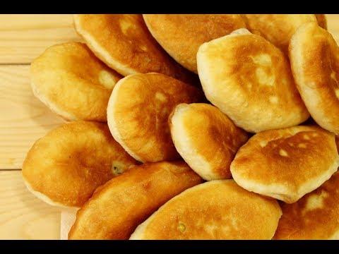 Жареные пирожки - САМОЕ ВКУСНОЕ ДРОЖЖЕВОЕ ТЕСТО на воде / Быстрые! Начинка с яйцом и рисом, яблоком