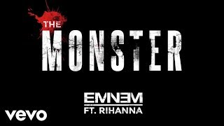 Repeat youtube video Eminem - The Monster (Audio) ft. Rihanna
