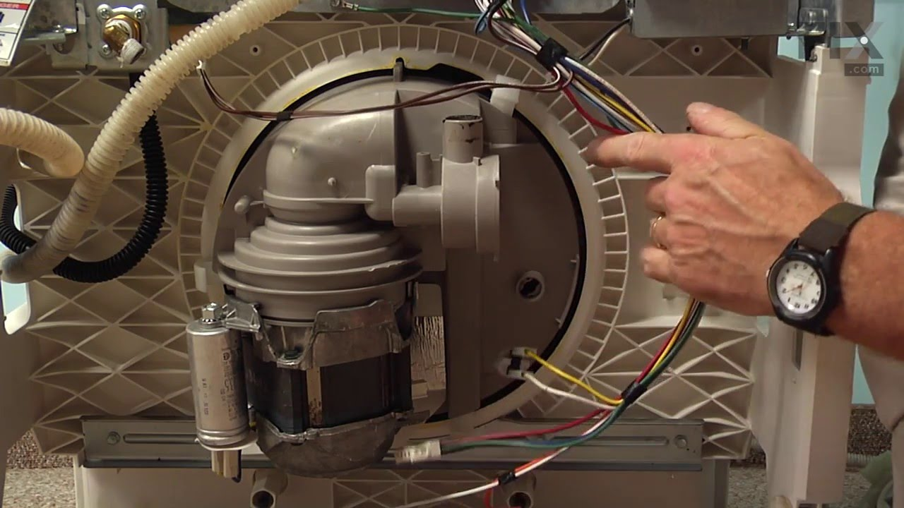 Kenmore Dishwasher Repair How To Replace The Circulation
