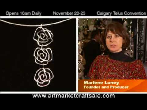 Calgary Craft Show at Telus Convension Center