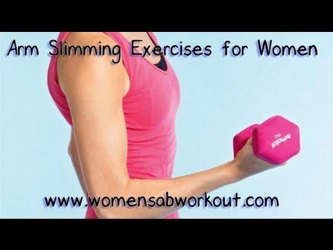 Best Arm Slimming Exercises For Women:Exercises for Slim ...