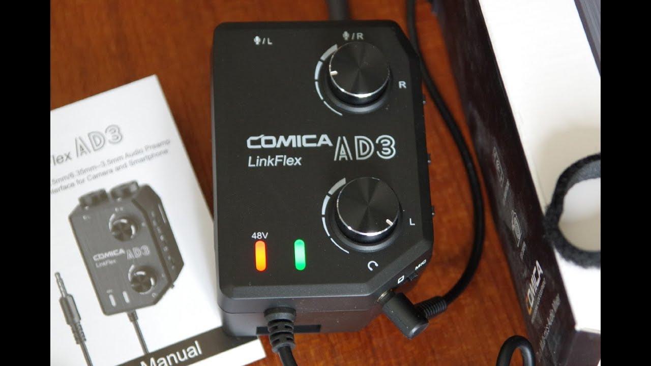Home & Garden Microphones research.unir.net COMICA AD3 Microphone ...
