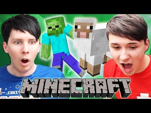 Thumbnail: Dan and Phil play MINECRAFT