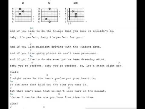 Perfect - One Direction - Guitar Chords - YouTube