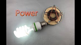 Free Energy Generator Using High Power Copper Coil || New Ideas At home 2019