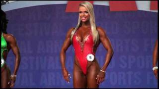 Larissa Reis at the 2010 Arnold Classic - 6th Place Overall