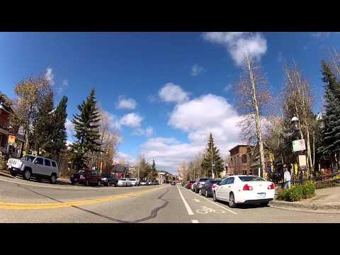 A Drive Through Breckenridge, Colorado Ski Resort Town