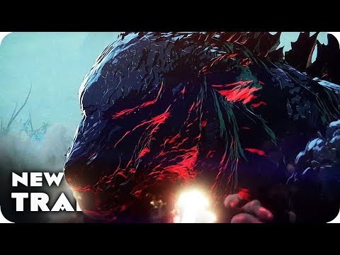GODZILLA: MONSTER PLANET Trailer (2017) Japanese Anime Movie
