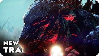 GODZILLA: MONSTER PLANET Trailer (2017) Japanese Anime Movie