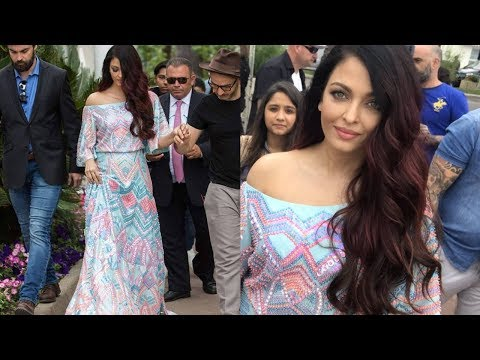 Finally ! Aishwarya Rai Bachchan's first look from Cannes Film Festival 2018 | Real Queen