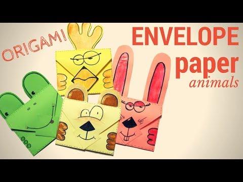 Как сделать конверт для денег на День рождение своими руками из бумаги. Бесплатно! Оригами конвертик