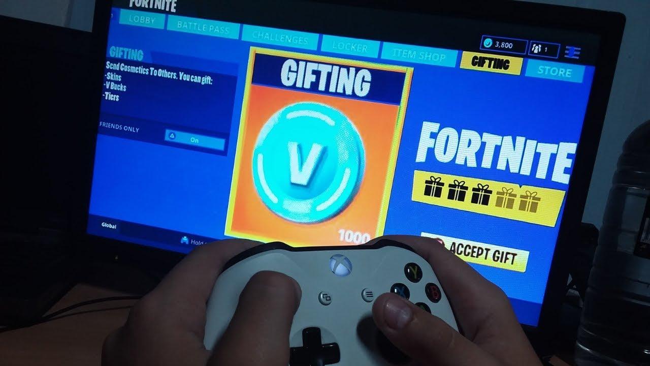 how to gift v bucks in fortnite battle royale - fortnite send vbucks to friends