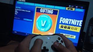 How to gift V-BUCKS In Fortnite Battle Royale!