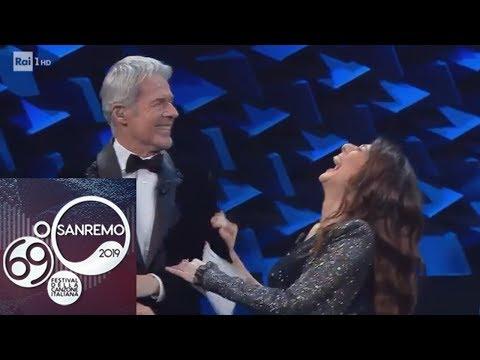 Sanremo 2019 - Claudio Baglioni imita Maurizio Costanzo