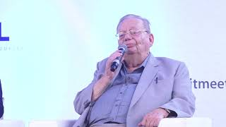 Ruskin Bond, Soumya Ranjan Patnaik and Chandrahas Choudhury at TSBLM 2019, Day 3