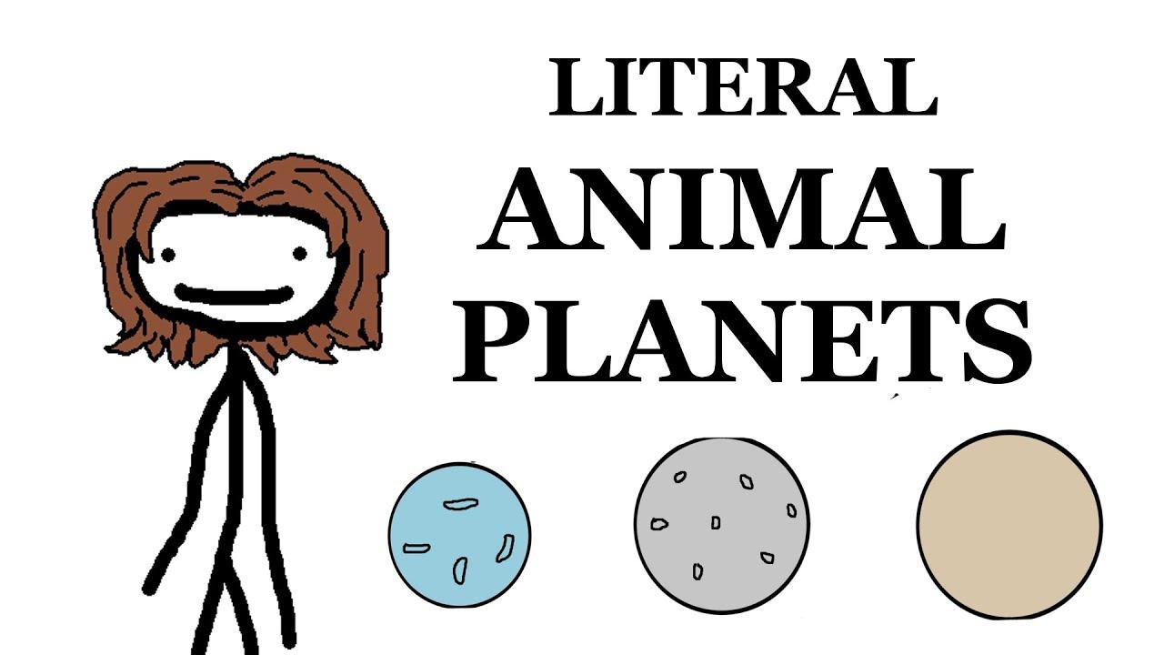 Literal Animal Planets -- Wildlife Wednesday