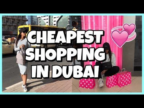 Dubai Travel Vlog- Cheapest Shopping Mall, Dubai Marina JBR