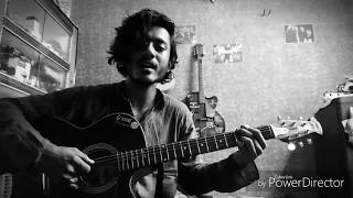 Jokhon Nirobe Dure Guitar Cover