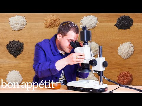 Pro Chef Examines 12 Types of Rice Under a Microscope | Bon Appétit