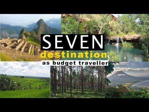 7 destination as budget traveller