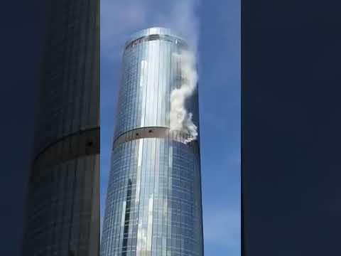 menara yayasan sabah berasap