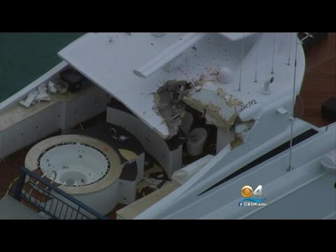 Part Of Draw Bridge Crashes Down On Mega Yacht