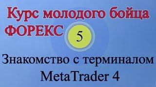 Знакомство с терминалом MetaTrader 4 (Обучение Форекс Урок 5)(Обучение Форекс. Терминал MetaTrader 4. Из этого видео вы узнаете, как пользоваться торговым терминалом MetaTrader..., 2014-11-19T12:11:17.000Z)