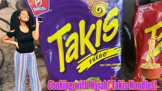 How To Make Taki Noodles! &quotCooking with ItzSoNyiah&quot