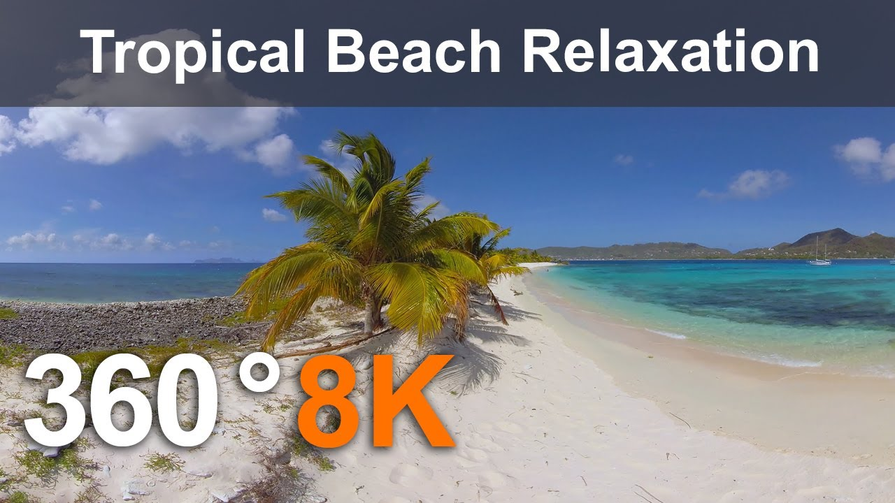 360° Caribbean Paradise Relaxation