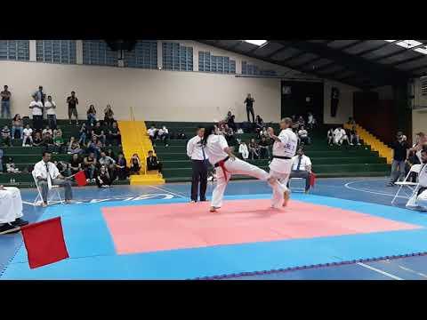 Olmeño Senpai Torneo Internacional Kyokushin Kan Costa Rica Noviembre 2018