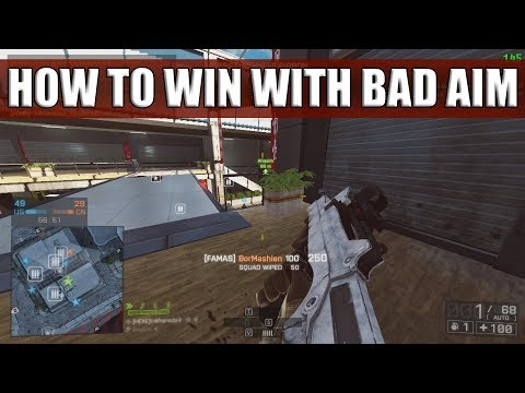 HOW TO WIN WITH BAD AIM | PC | Famas on Shanghai | 41-2