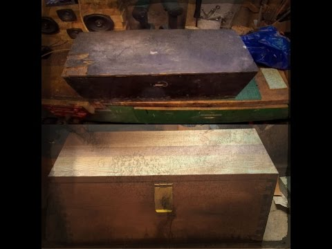 Restoring Old Wooden Box