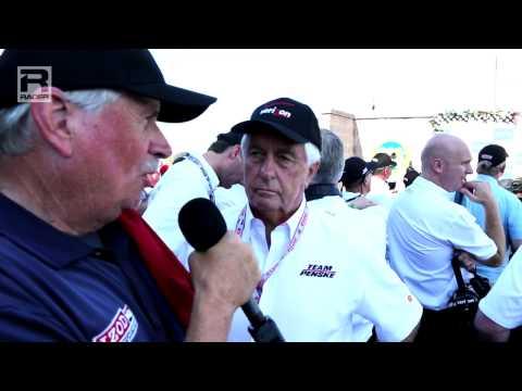 RACER: Roger Penske Sonoma Race Winner