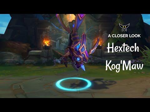 Hextech Kog'Maw Mythic Skin