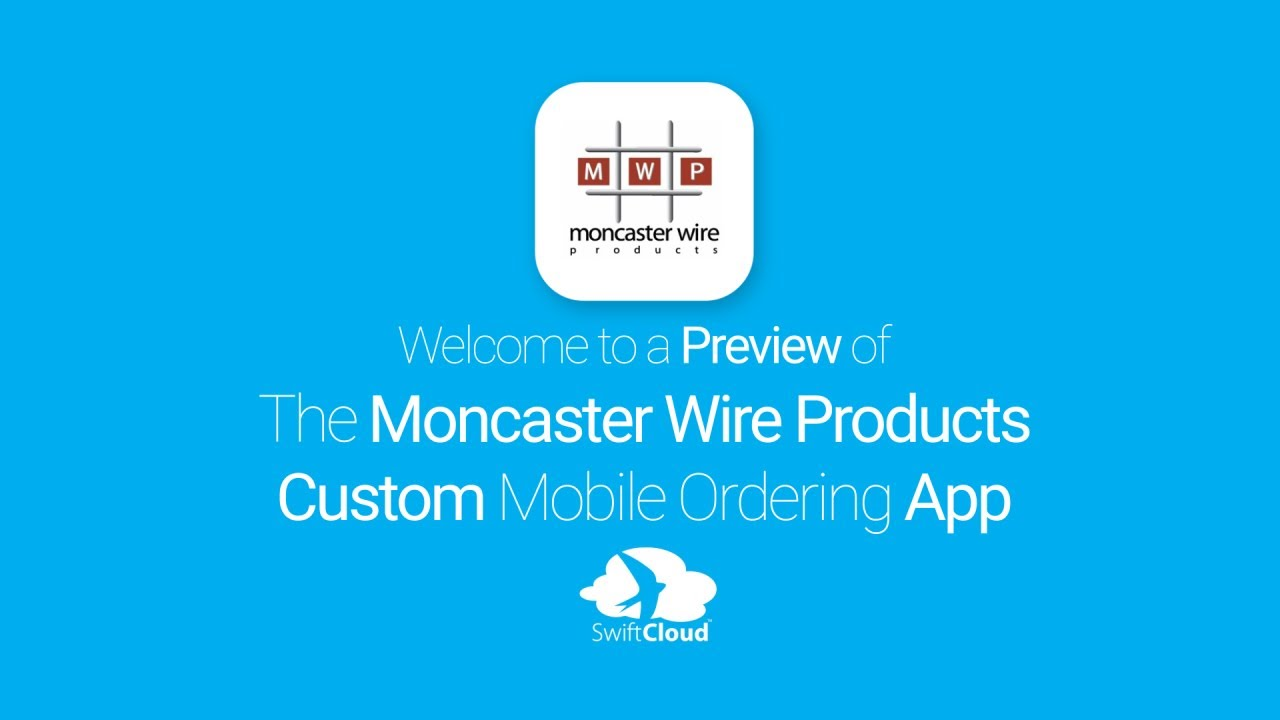 Moncaster Wire Products - Mobile App Preview - MON443W - YouTube