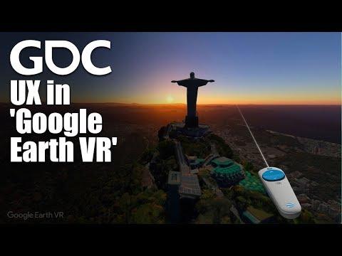 UX in Google Earth VR