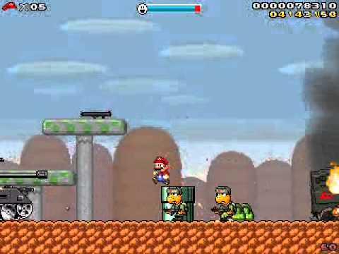 Super Mario - Red Scare (Minigame) - YouTube