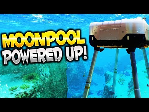 MOONPOOL POWERED UP! - Subnautica Gameplay Part 3 - Moonpool Fragment Locations & Blueprints!