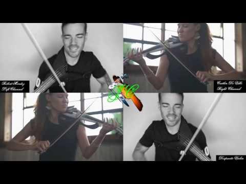Despacito (Luis Fonsi) - Double Electric Violin - Caitlin De Ville & Robert Mendoza