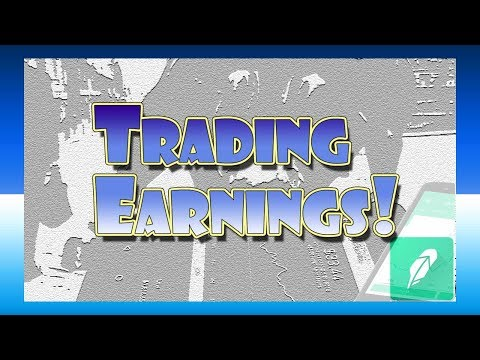 MAKE MONEY Trading STOCKS during Earnings Season!  | Robinhood APP Investing