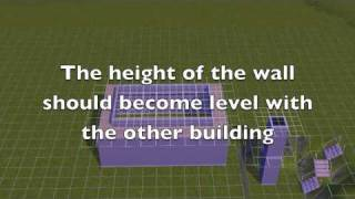 How to Build a Tray Ceiling on The Sims 3